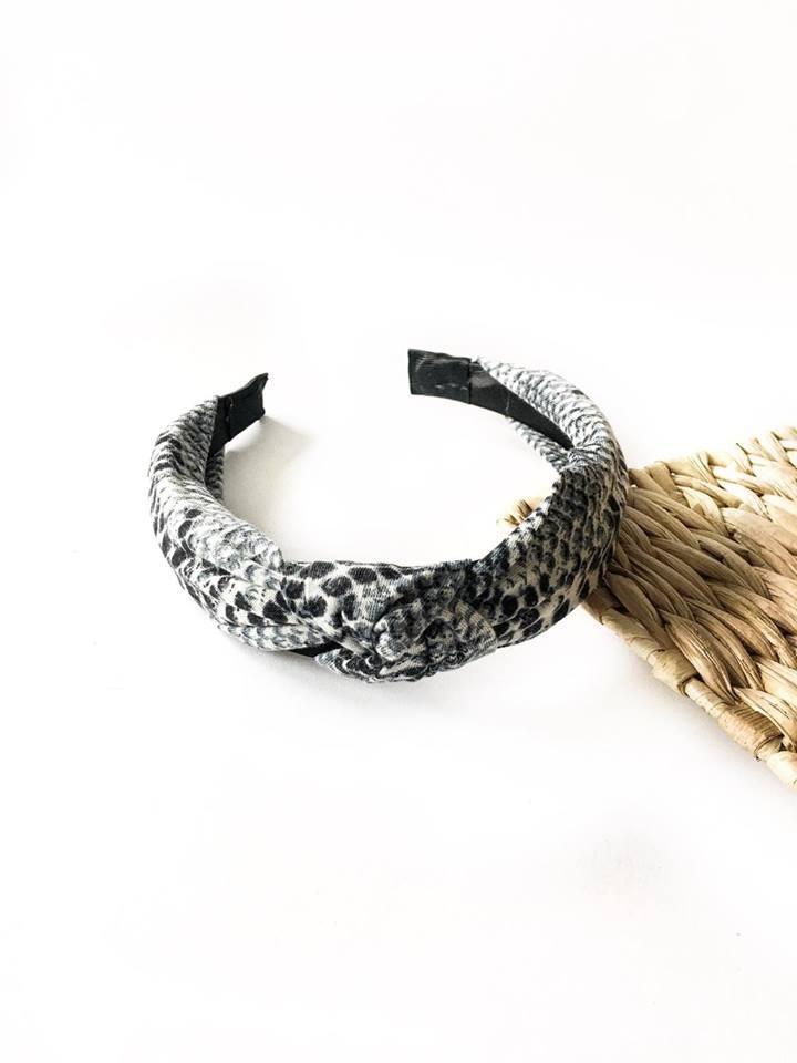 Opaska Snake Gray