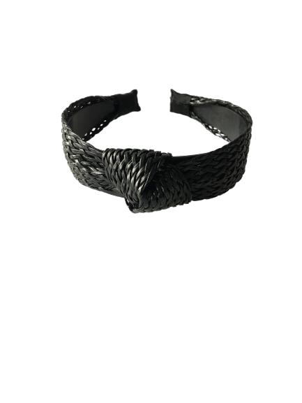OPASKA PLECIONA RATTAN BLACK