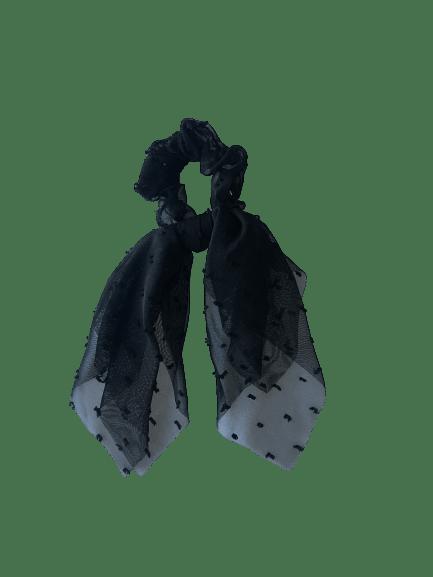 GUMKA TULLE DOTS BLACK