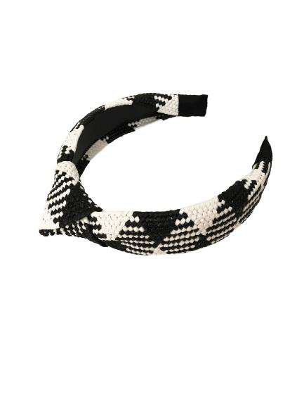 OPASKA RATTAN BLACK&WHITE